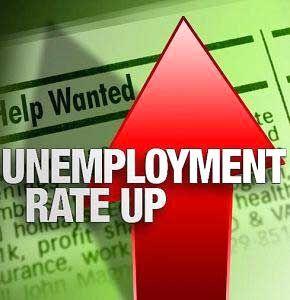 Area unemployment rate rises