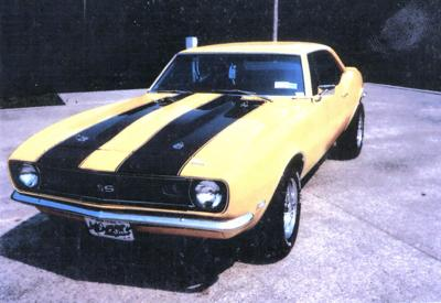 CLASSIC CARS: Everything was good on 1968 Camaro - except the engine, body and interior