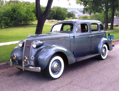 CLASSIC CARS: 1937 Studebaker restored with original parts - down ...