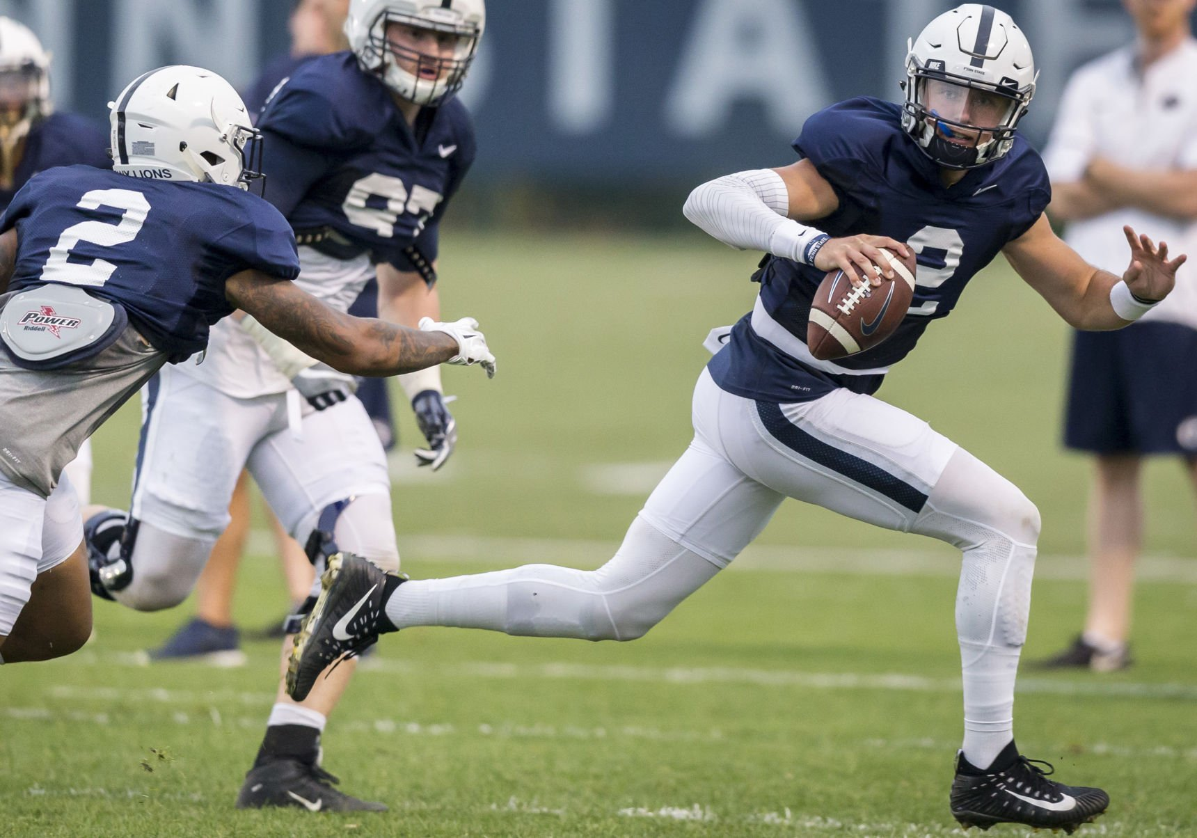 McSorley: Lions look to 'keep elevating' as Big Ten play looms
