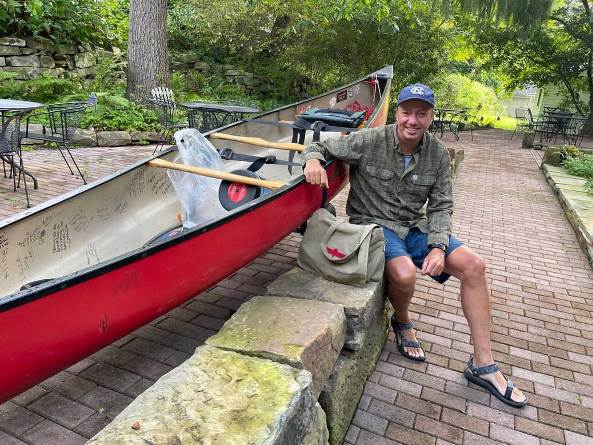 Los Angeles native paddles through on nationwide canoe trip