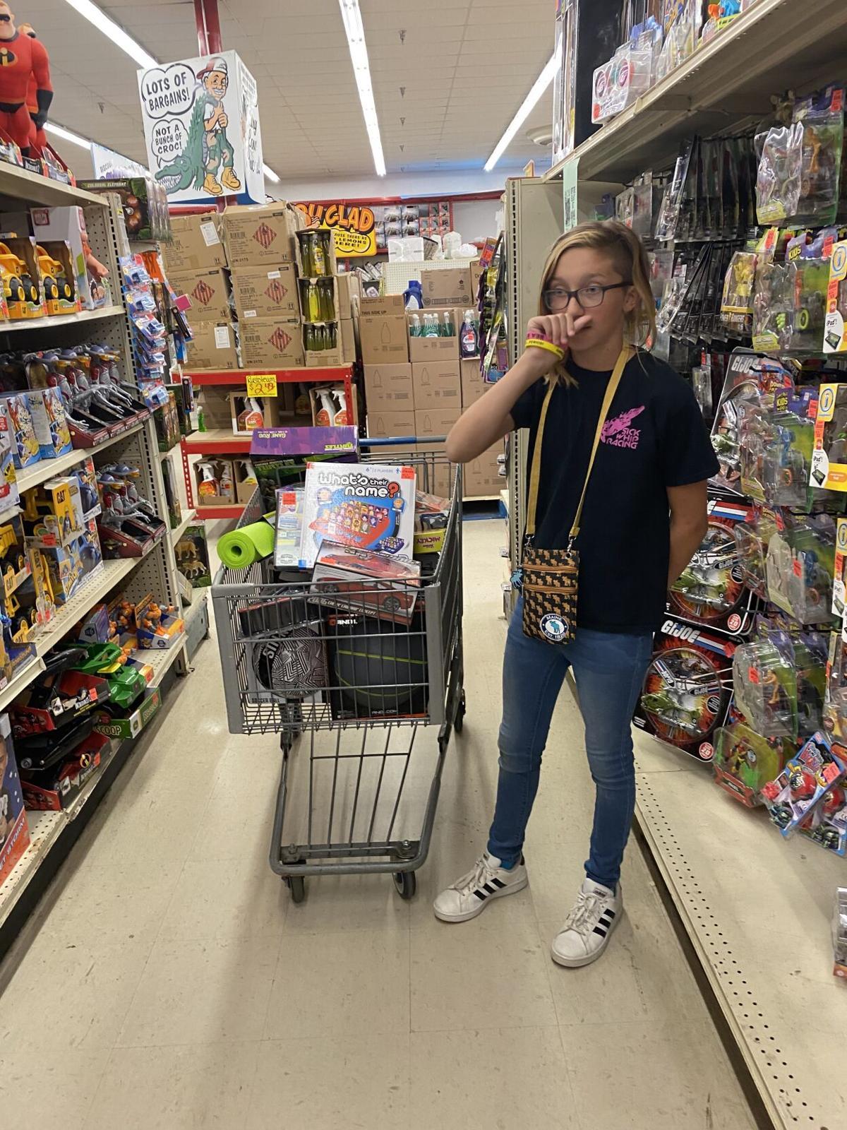 Girl raises $3,050 to buy toys for Shriners children