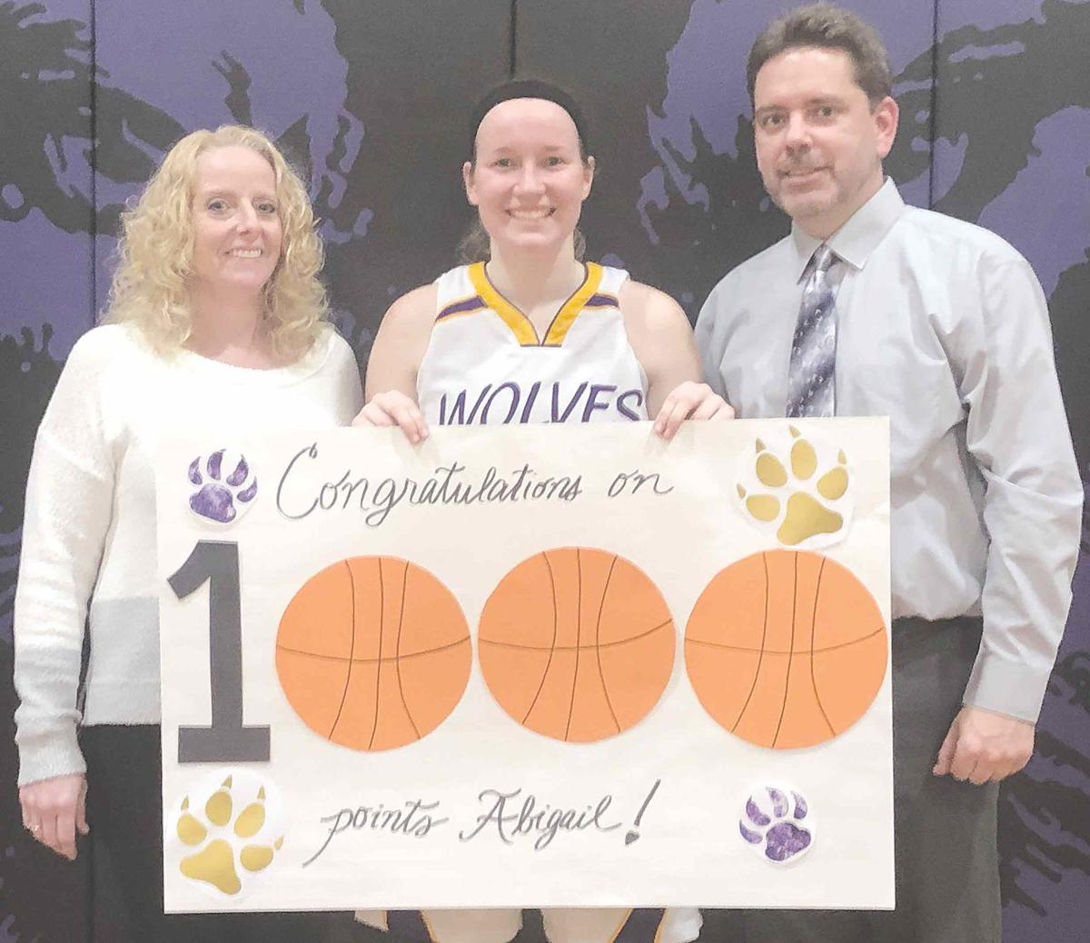 Gatesman hits milestone in She-Wolves win