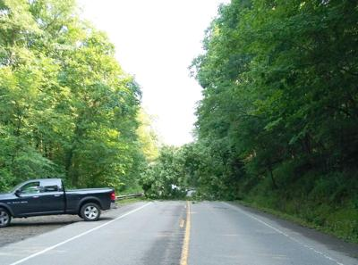 Storms cause problems in area