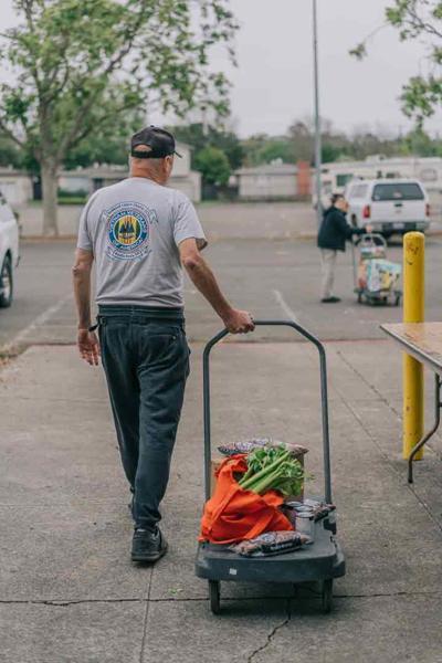 Veterans say Second Harvest's new food program is 'fantastic'