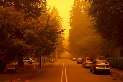 Fires spread across Pacific Northwest