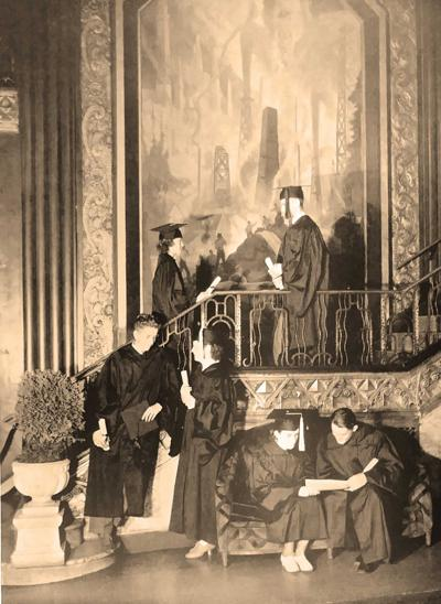 OC life continued in 1930s with graduations and the like