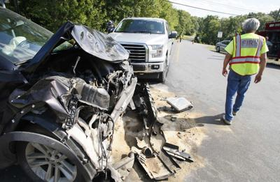 1 injured in Route 157 crash