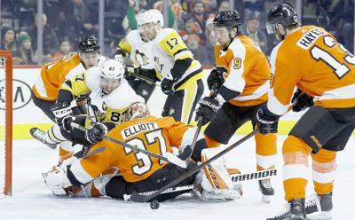 Flyers shut out Penguins
