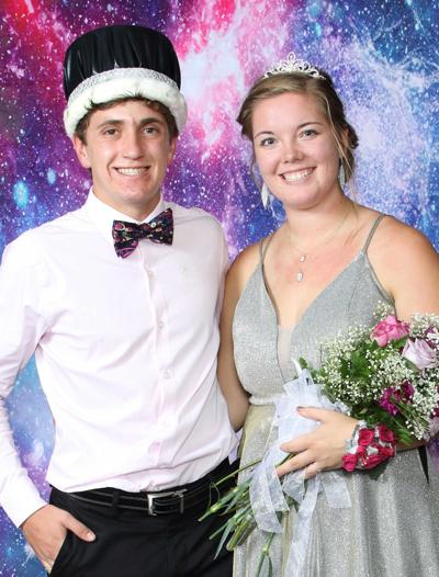 Keystone school crowns homecoming king, queen
