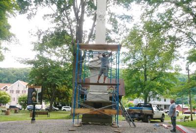 Repairs to monument
