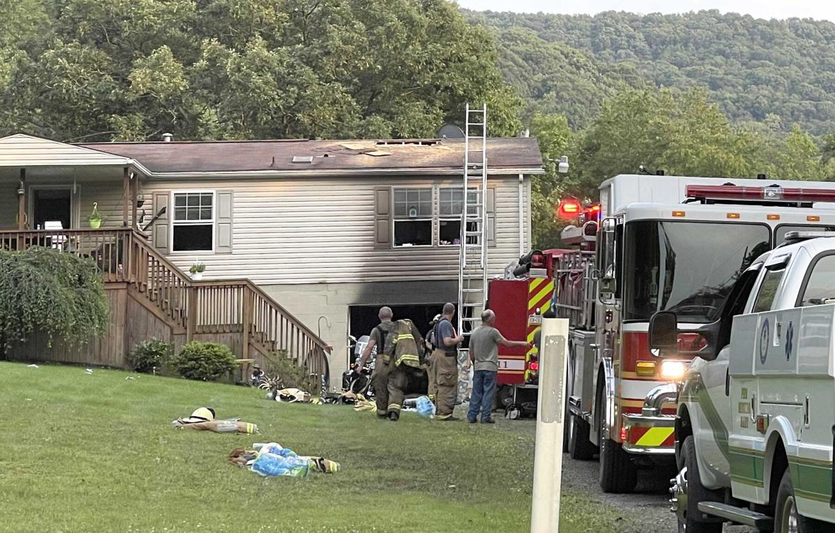 10 departments respond to Rouseville fire