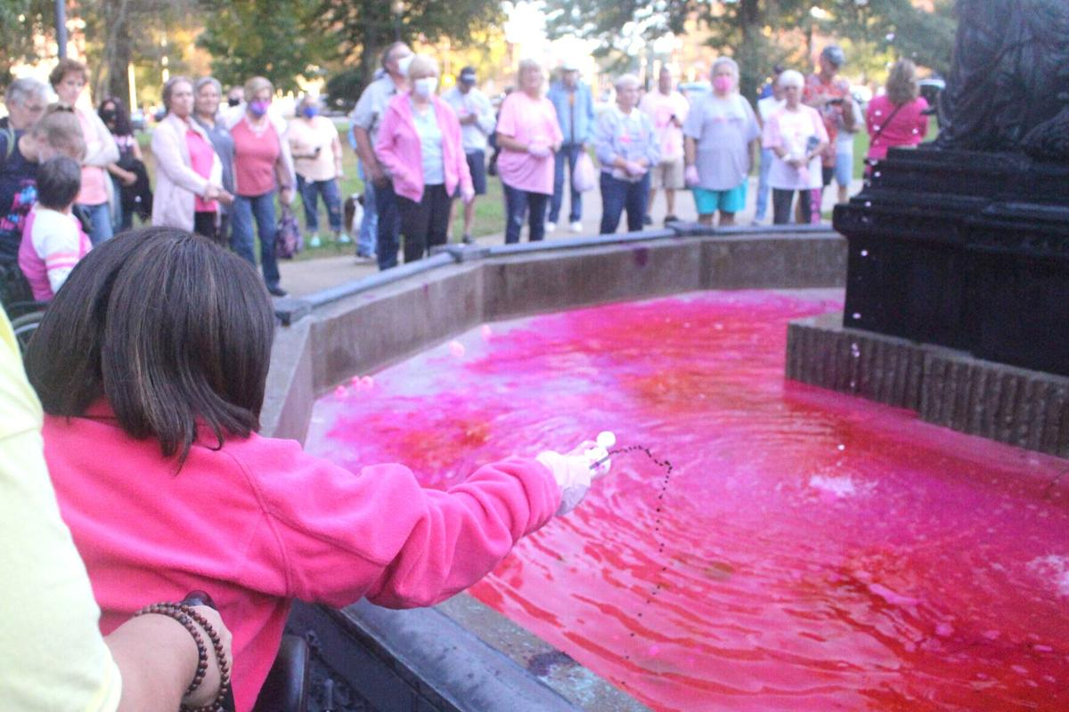 Pink Splash for the Cure