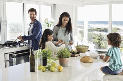 Avoid bringing job stress home