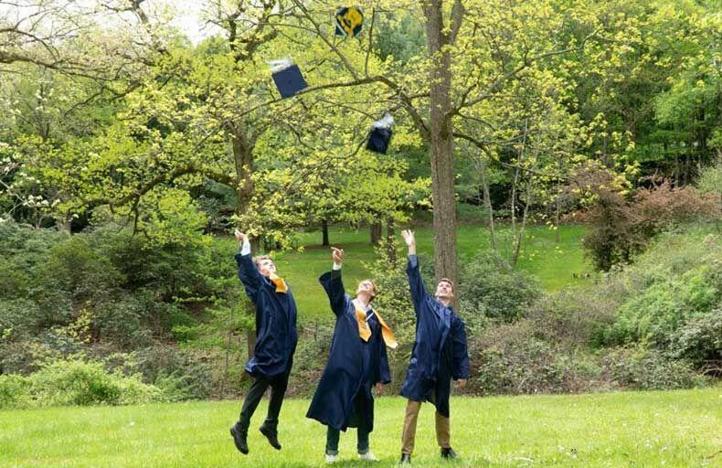 OC seniors celebrate