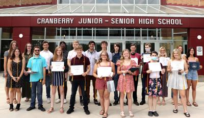 Cranberry seniors honored at awards ceremony