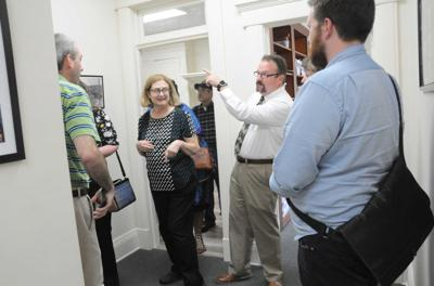 Open house at renovated building