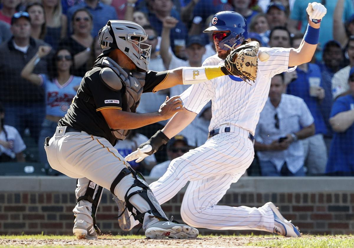 Cubs slide past Pirates