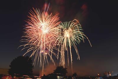 Cranberry fireworks