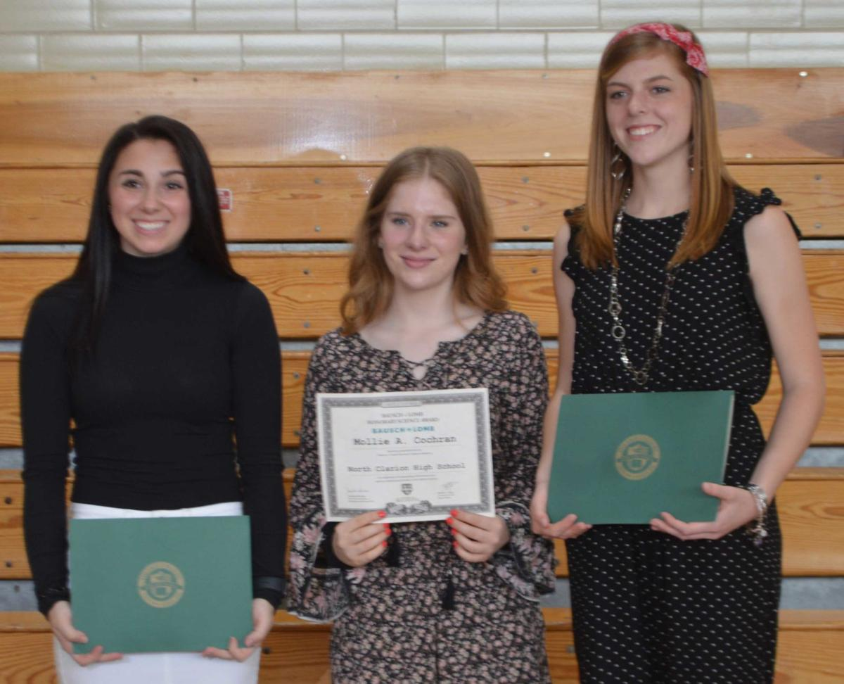 Many North Clarion students honored at awards ceremony