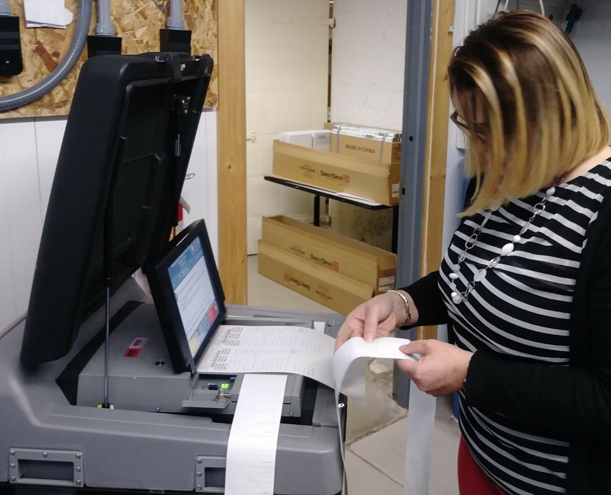 voting machine testing