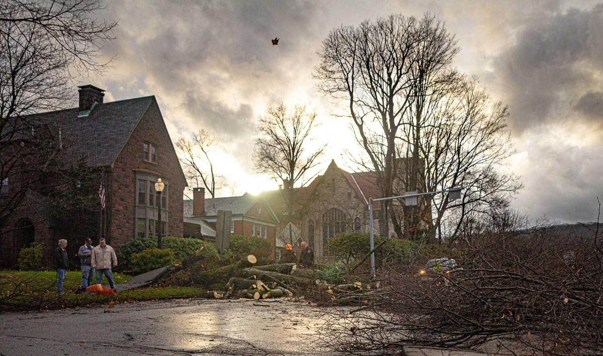 Strong storms cause problems in area