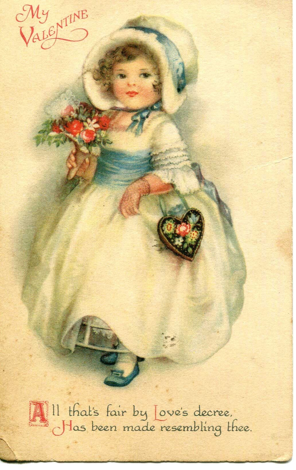 'Valentine Lady' born in OC was known for detailed cards