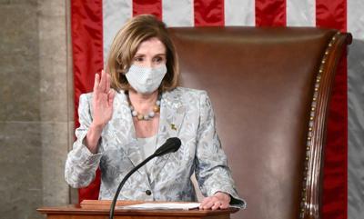 Pelosi reelected speaker