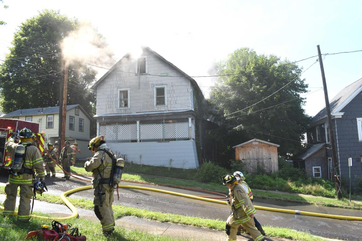 Blazes hit 2 homes