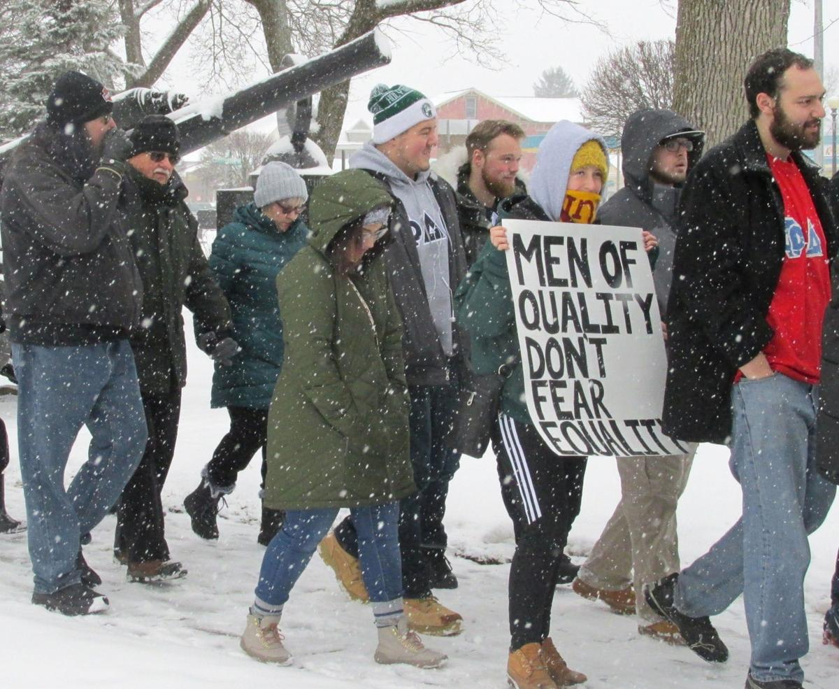 Women's March in Clarion in step with others across globe
