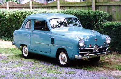 CLASSIC CARS: 1951 Crosley saved from crusher, spreads joy after restoration