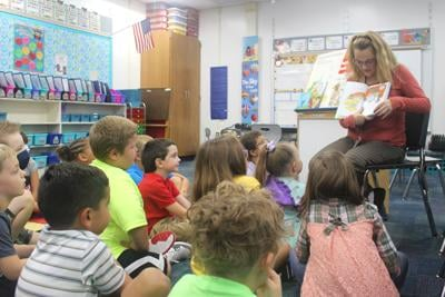 Central Elementary first-graders