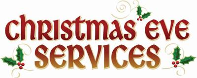 Area churches will hold Christmas Eve services   Features
