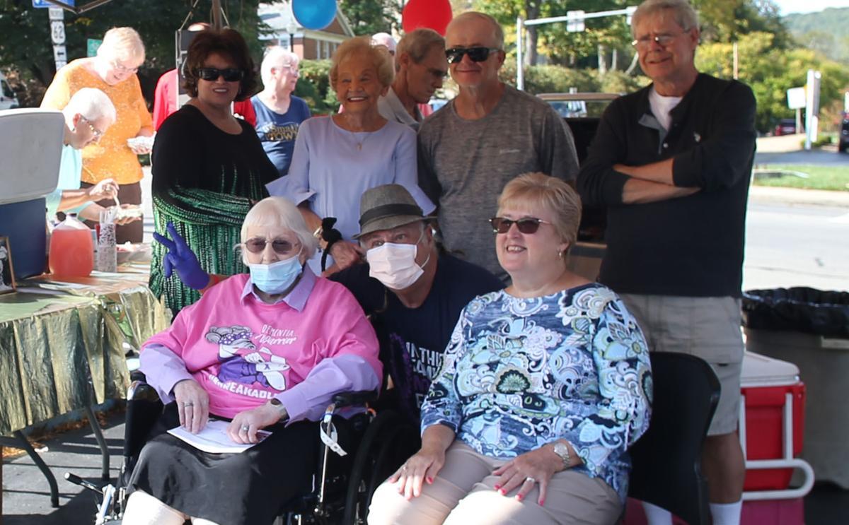 Margaret Jetter celebrates her 92nd birthday