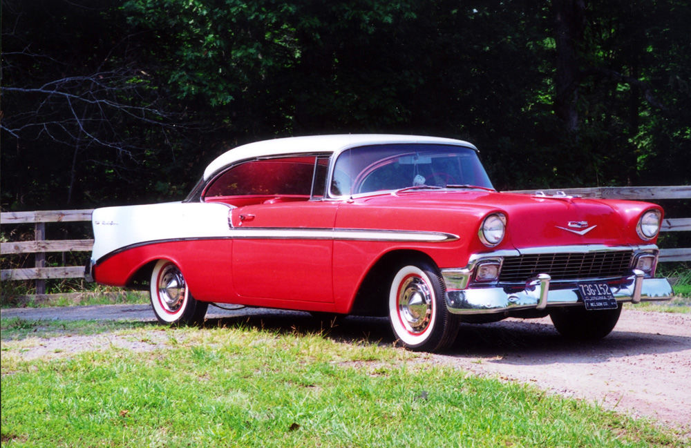 CLASSIC CARS: 1956 Chevrolet Bel Air restored to like-new ...