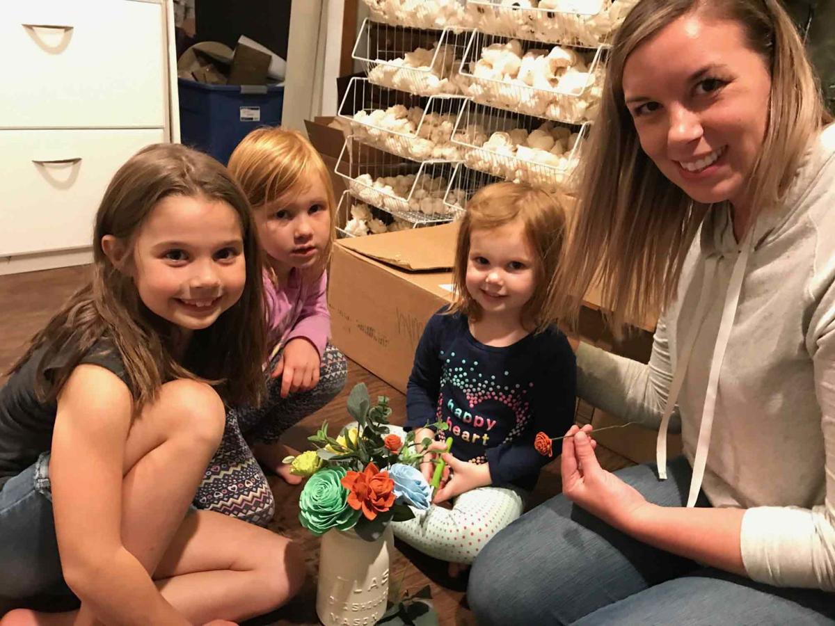Woman crafts a way to make motherhood, business work