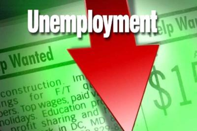 Area jobless rate falls