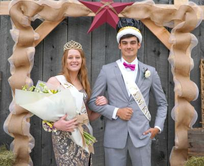 Cranberry crowns prom royalty