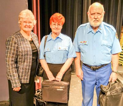 Franklin Silver Cornet Band members honored   Community News