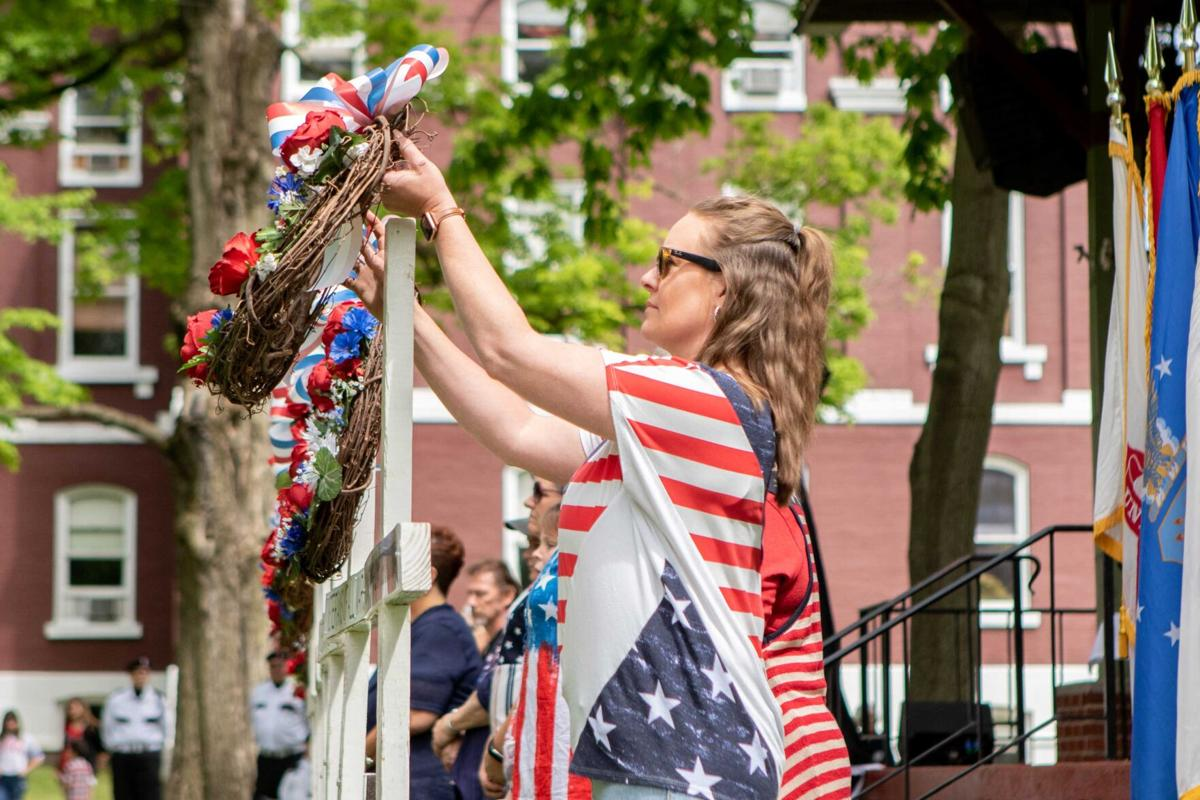 Franklin observances, parade honor fallen military members