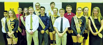 Venango Catholic names homecoming court