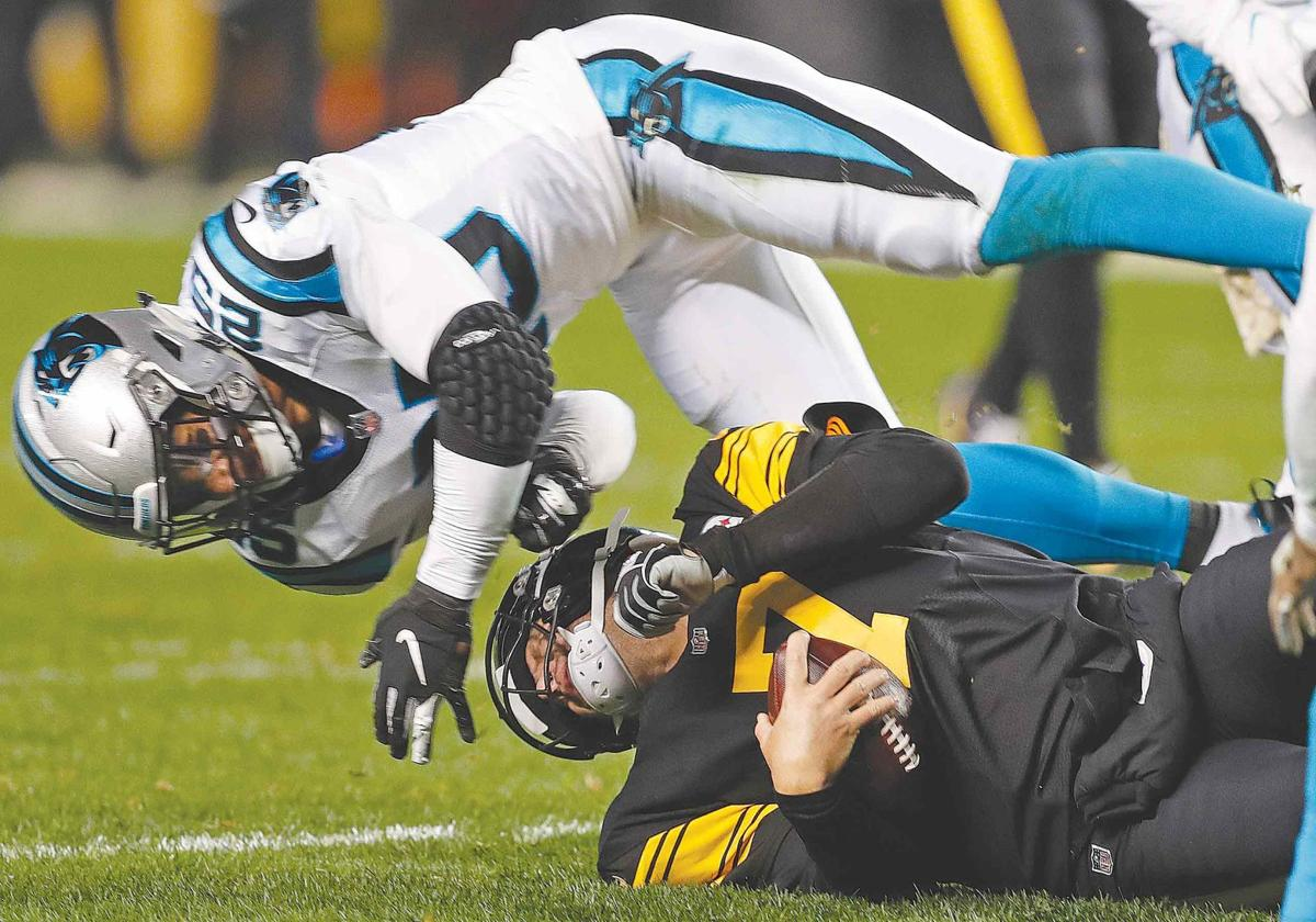 Steelers paste Panthers