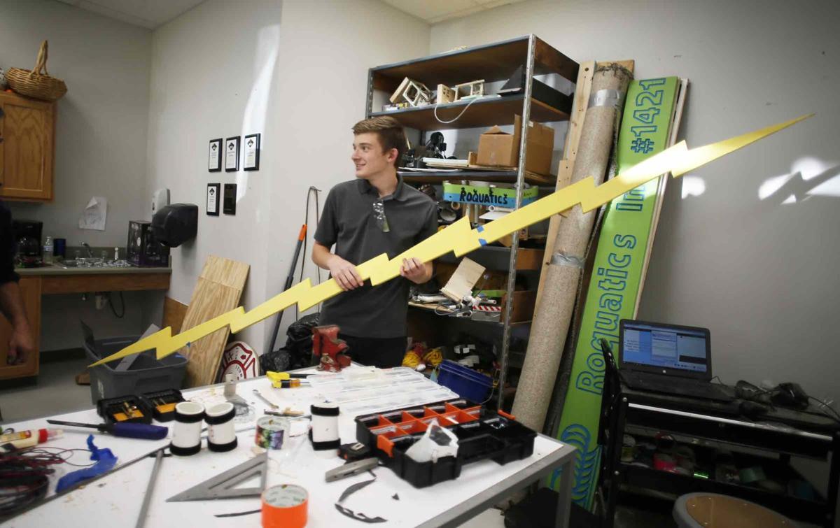 Franklin, CLA teams ready for regional robotics event