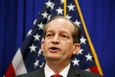 Labor Secretary Acosta resigns amid Epstein deal scrutiny