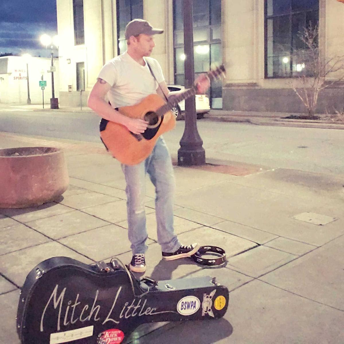 Oil City man's corner concerts are music to people's ears
