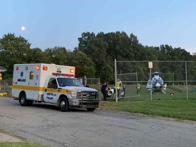 Girl hurt in bike accident