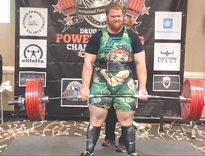 Frawley powers his way into weightlifting record books