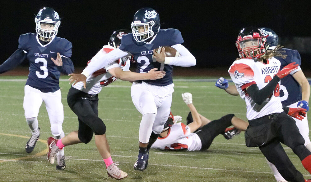 Oil City now 6-0 after 75-0 win over Knights