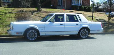 Classic Cars After Crushing Accident Buyer Finds 1988 Lincoln Town