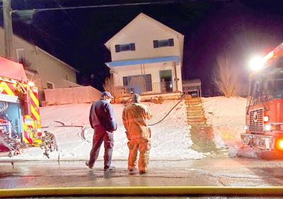 Fire damages home in Oil City